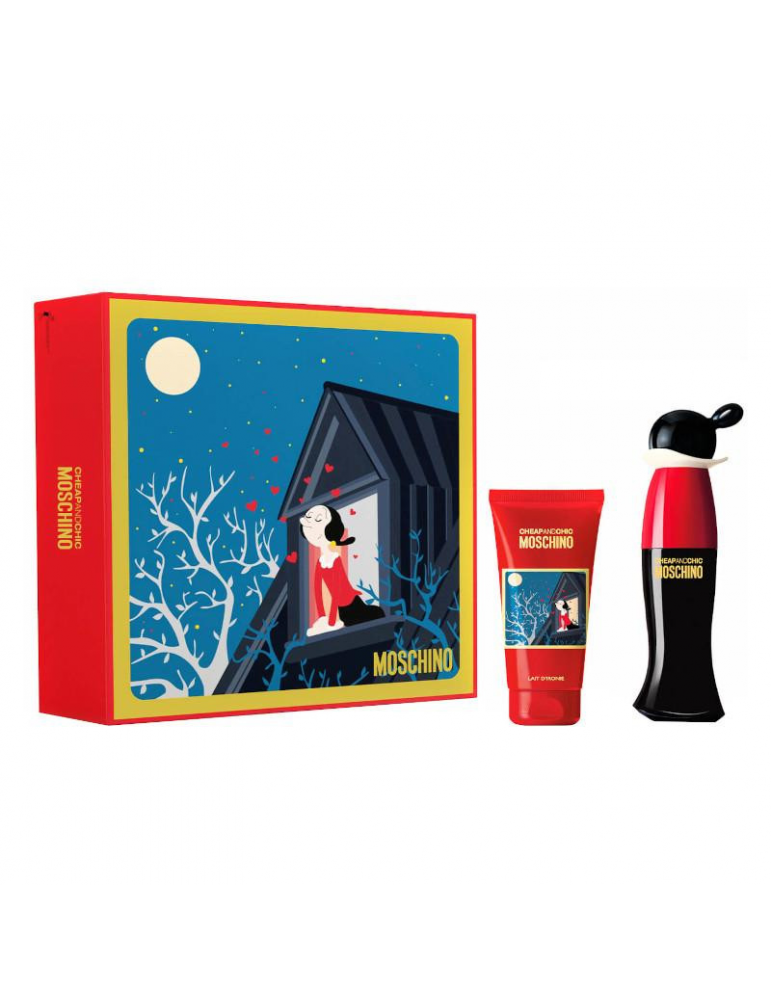 Moschino Cheap&Chic EDT 30 ML + Body Lotion 50 ML 8011003860319 Moschino Parfums 49,00€